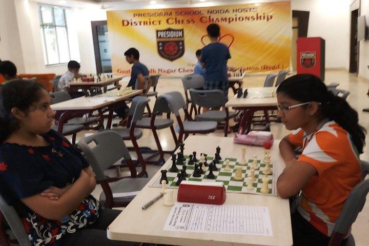 Global Indian International School-Indoor Games