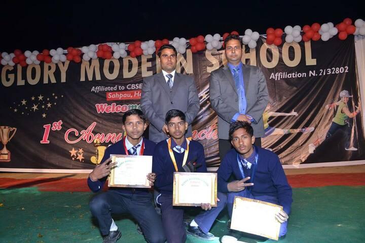Glory Modern School-Award