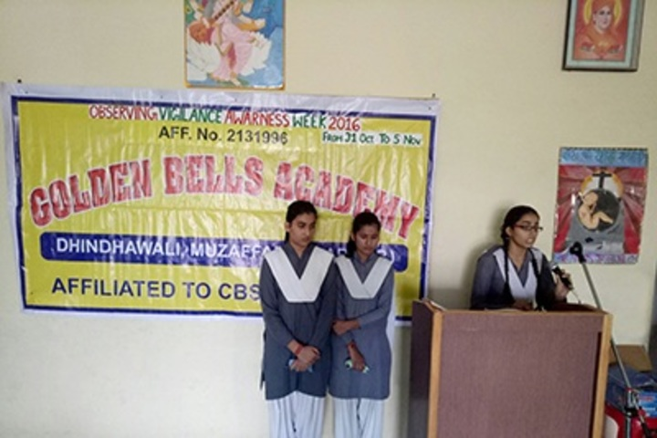 Golden Bells Academy-Speech