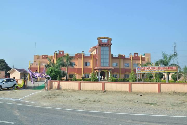 Golden Future Public School-Campus-Entrance