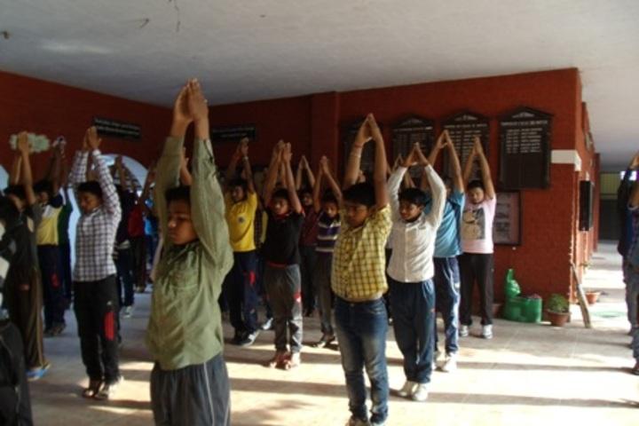 Gorakhpur Public School-Yoga