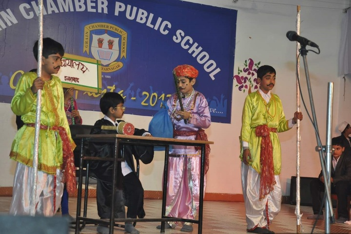 Grain Chamber Public School-Activity