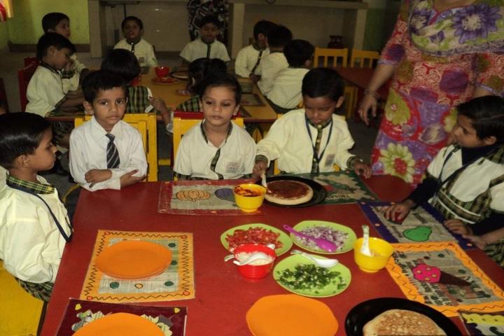 Grain Chamber Public School-Cafeteria