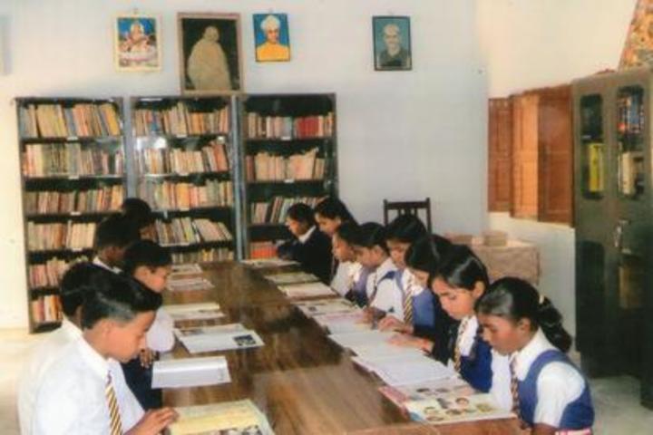 Gramya Bharati Purv Madhyamik Shikshalaya-Library