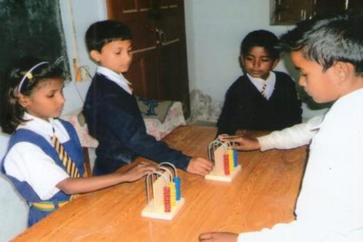 Gramya Bharati Purv Madhyamik Shikshalaya-Maths Lab
