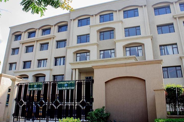 Greater Noida World School-Campus view