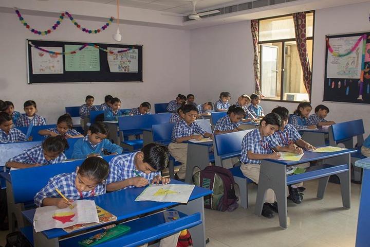 Greater Noida World School-Classroom
