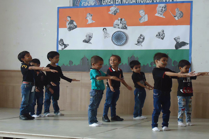Greater Noida World School-Independence day