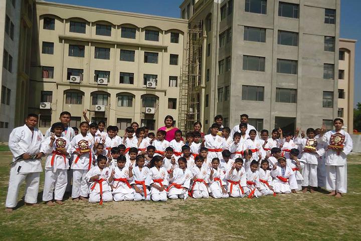 Greater Noida World School-Karate