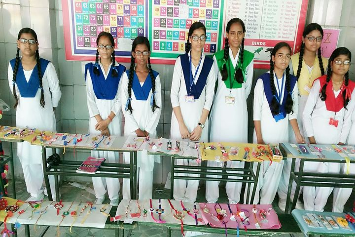Green Field Academy-Rakhi Exhibition