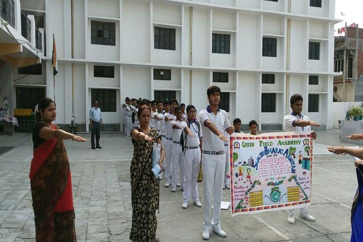 Green Field Academy-Swachchh Bhrat Abhiyan