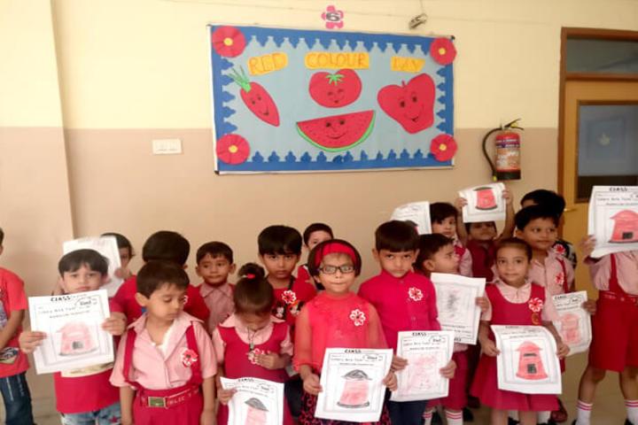 Green Land Public School-Red Day
