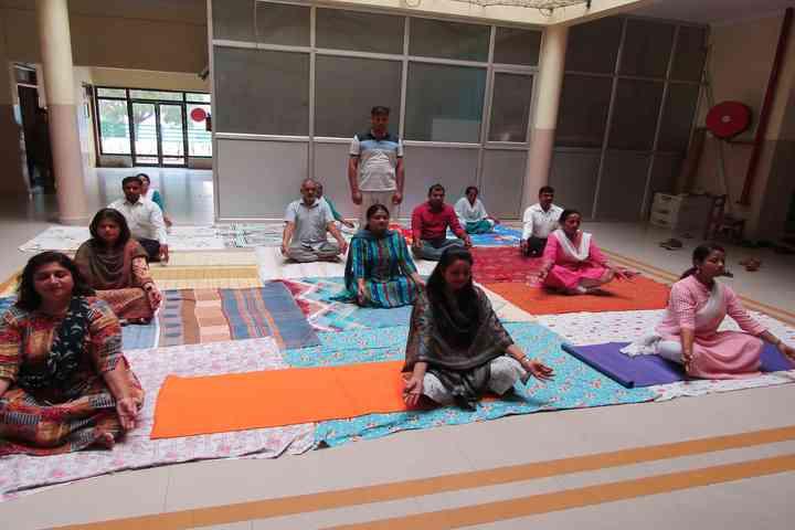Green Land Public School-Yoga