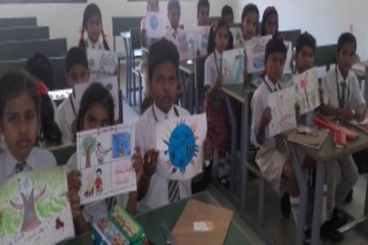 Green Land School-Drawing
