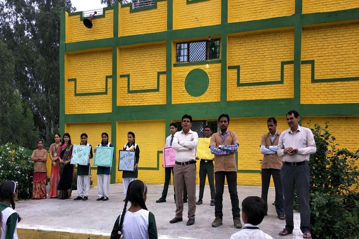 Green Light Public School-Extra Activity