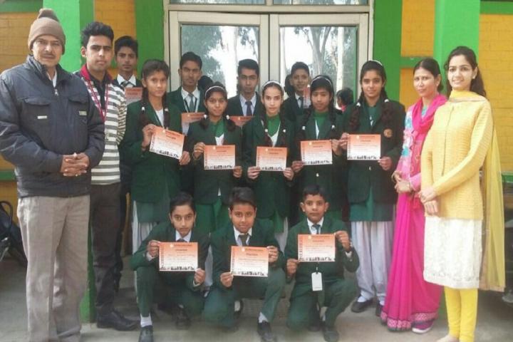 Green Light Public School-Winners