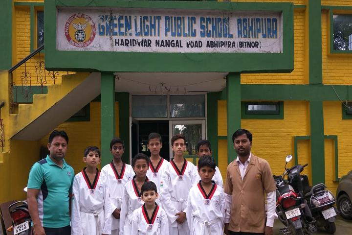 Green Light Public School-Yoga