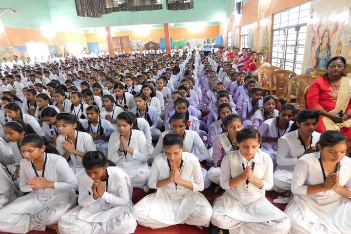 Shri Rani Saraswati Vidya Mandir-Prayer