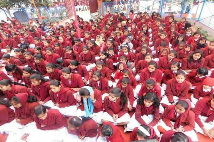 Shri Rani Saraswati Vidya Mandir-Students