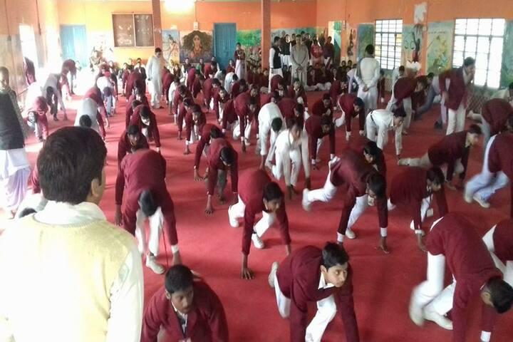 Shri Rani Saraswati Vidya Mandir-Yoga