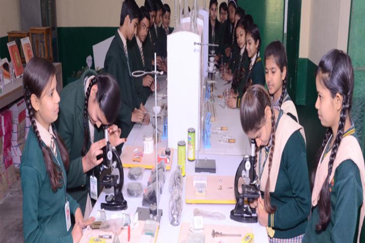 Green Valley Convent School-Laboratory