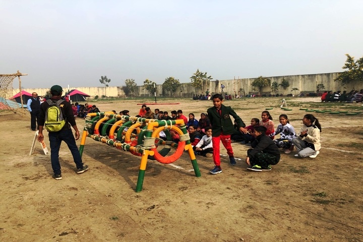 Green Valley Convent School-Playing Area