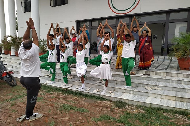 Green Valley Public School-Yogaday