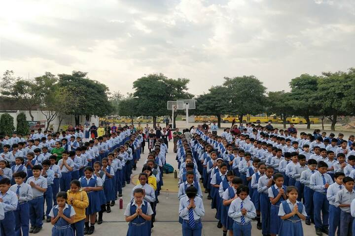 Guru Kripa Divine Grace Public School-Assembly