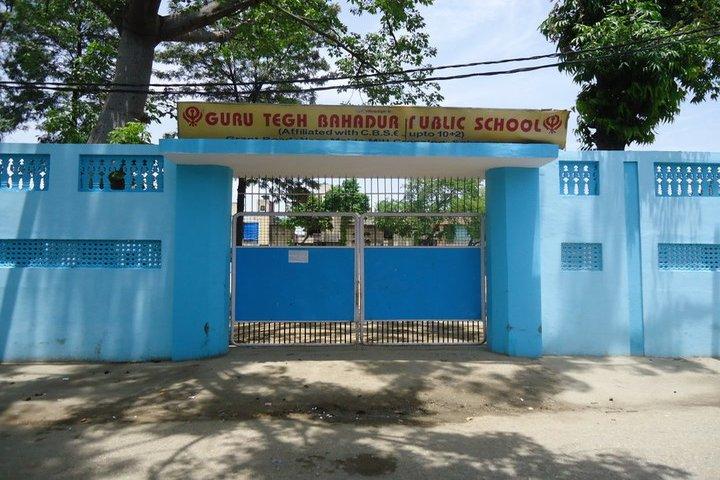Guru Tegh Bahadur Public School-School Entrance