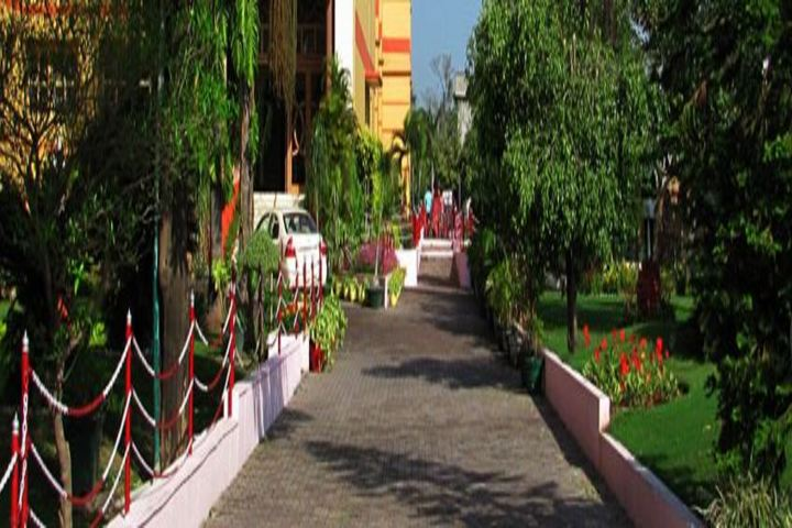 Gurukul International School-Campus Entrance View