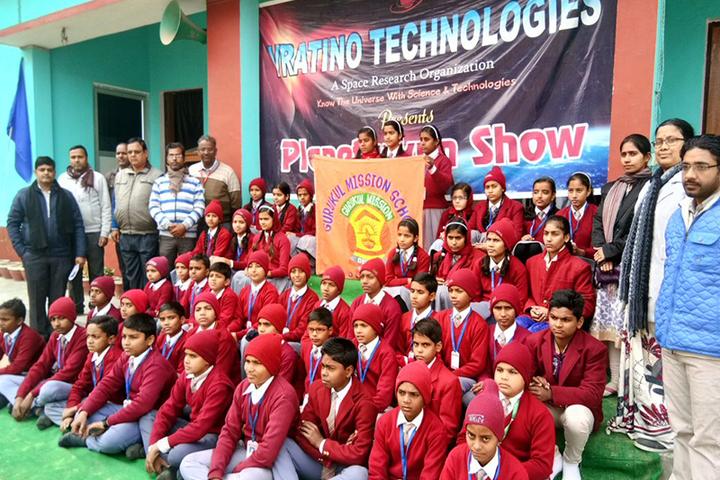 Gurukul Mission School-Planetarium Show