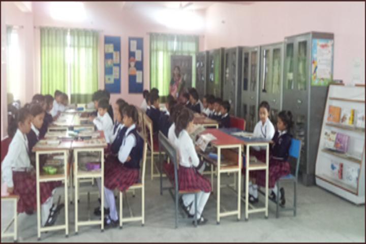 Gurukul Montessori School-Library
