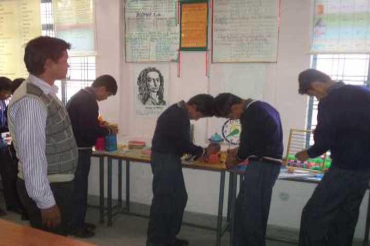 Gurukul Montessori School-Maths Lab