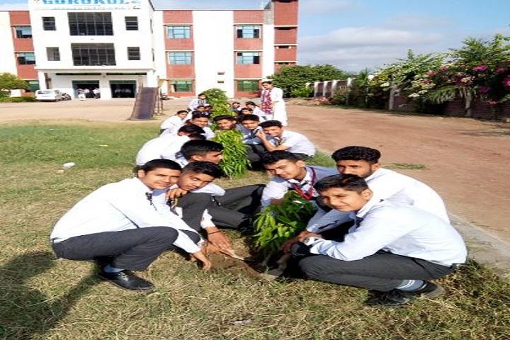Gurukul Vidyapeeth-Tree Plantation