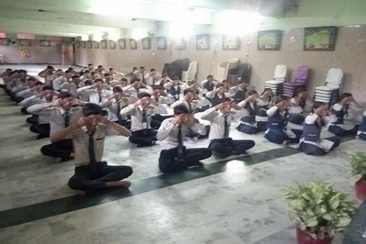 Gyan Deep Senior Secondary Public School-Yoga Activity