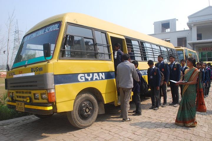 Gyan International School-Bus