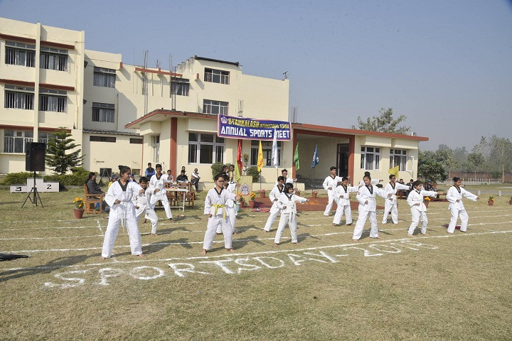Gyan Kalash International School-Karate Activity