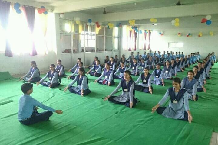 Gyan Kunj Senior Secondary Academy-Yoga Day