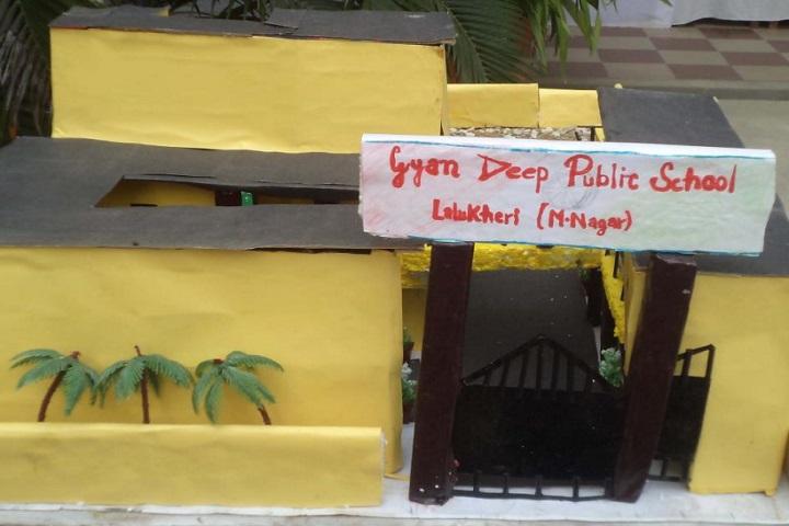 Gyandeep Public School-Art and Craft work