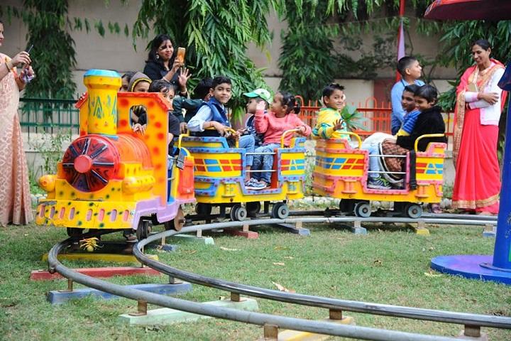 Gyandeep Shiksha Bharati Senior Secondary School-Kindergarten Play Area