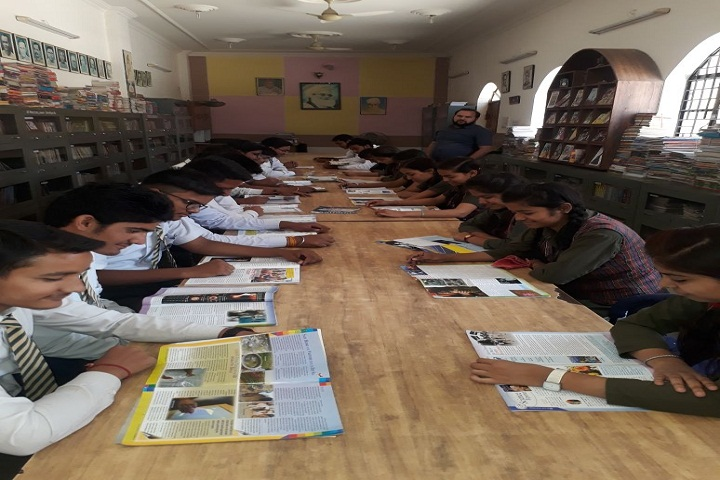 Gyandeep Shiksha Bharati Senior Secondary School-Library