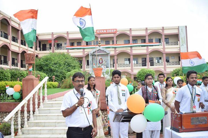 Gyandeep Shiksha Bharati Senior Secondary School-Independence Day