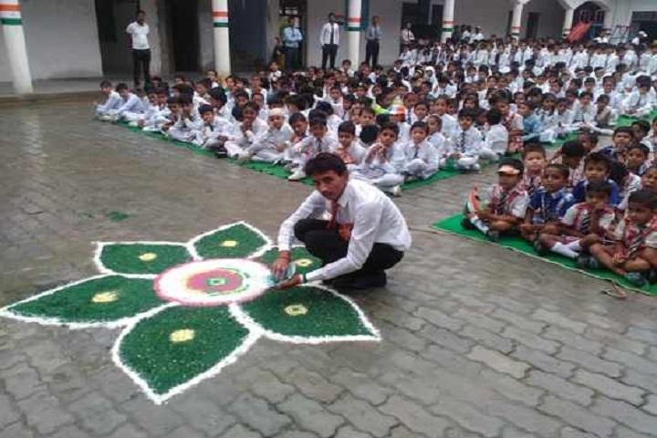 Gyansthali Academy-Rangoli Competition