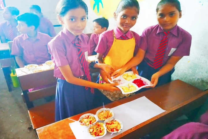 Gyansthali Academy-Cookery Activity