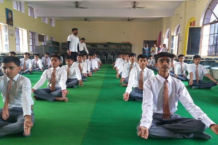 Gyansthali Public School-Yoga Day