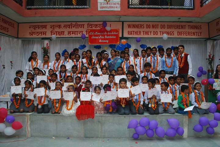 H S Memorial Public School-Annual Prize Distribution