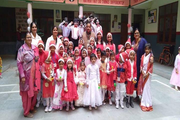 H S Memorial Public School-Christmas Celebrations