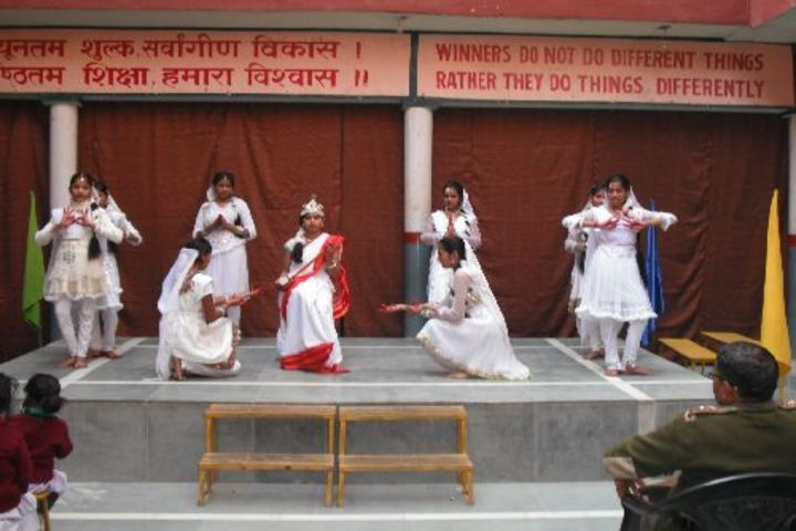 H S Memorial Public School-Dancing Activity