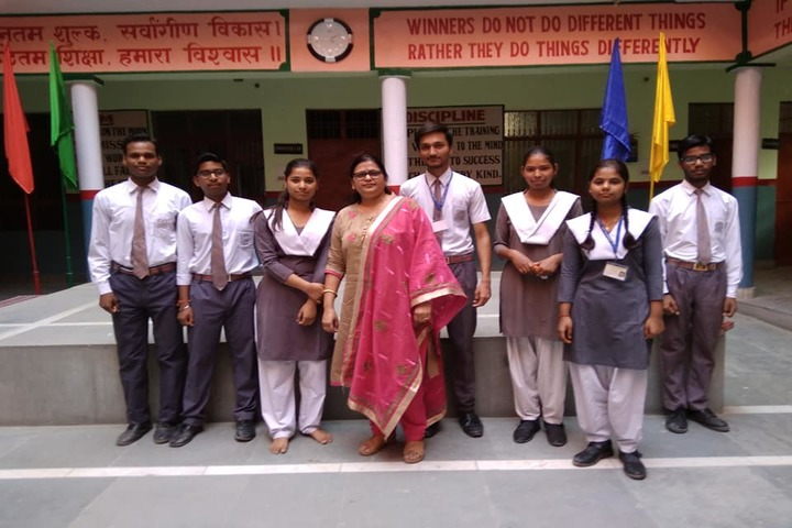 H S Memorial Public School-Investiture Ceremony