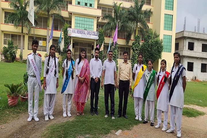 H N Memorial Girls Inter College-Investiture Ceremony